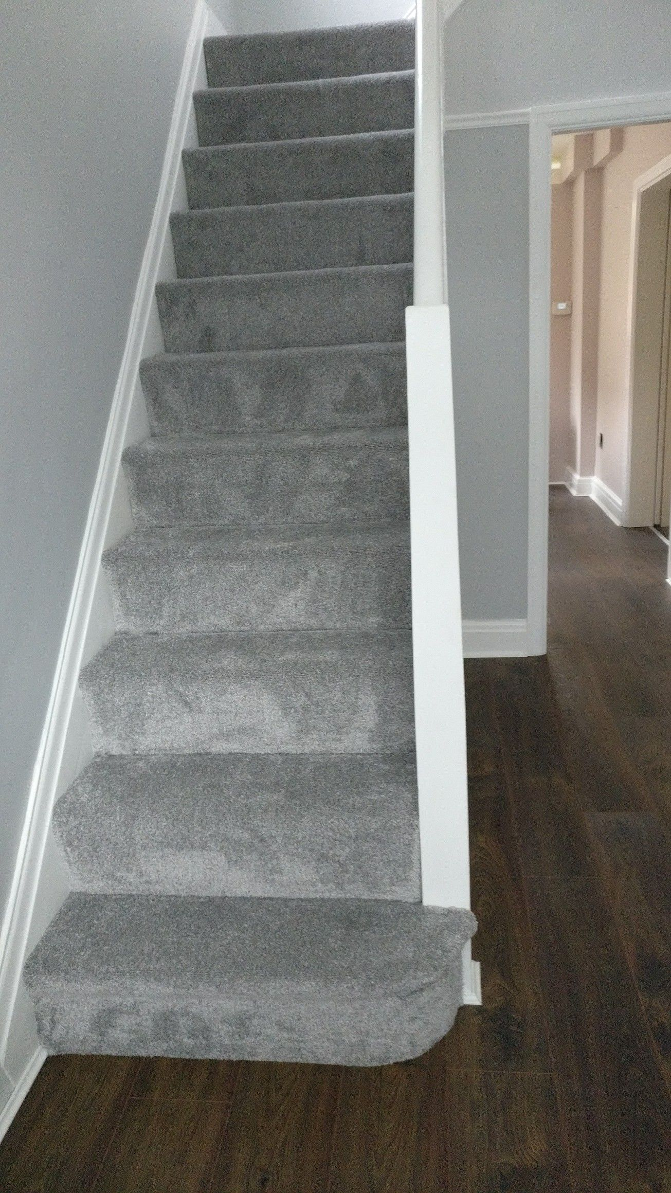 Hallway And Stairs Dulux Easycare Goose Down And Polished