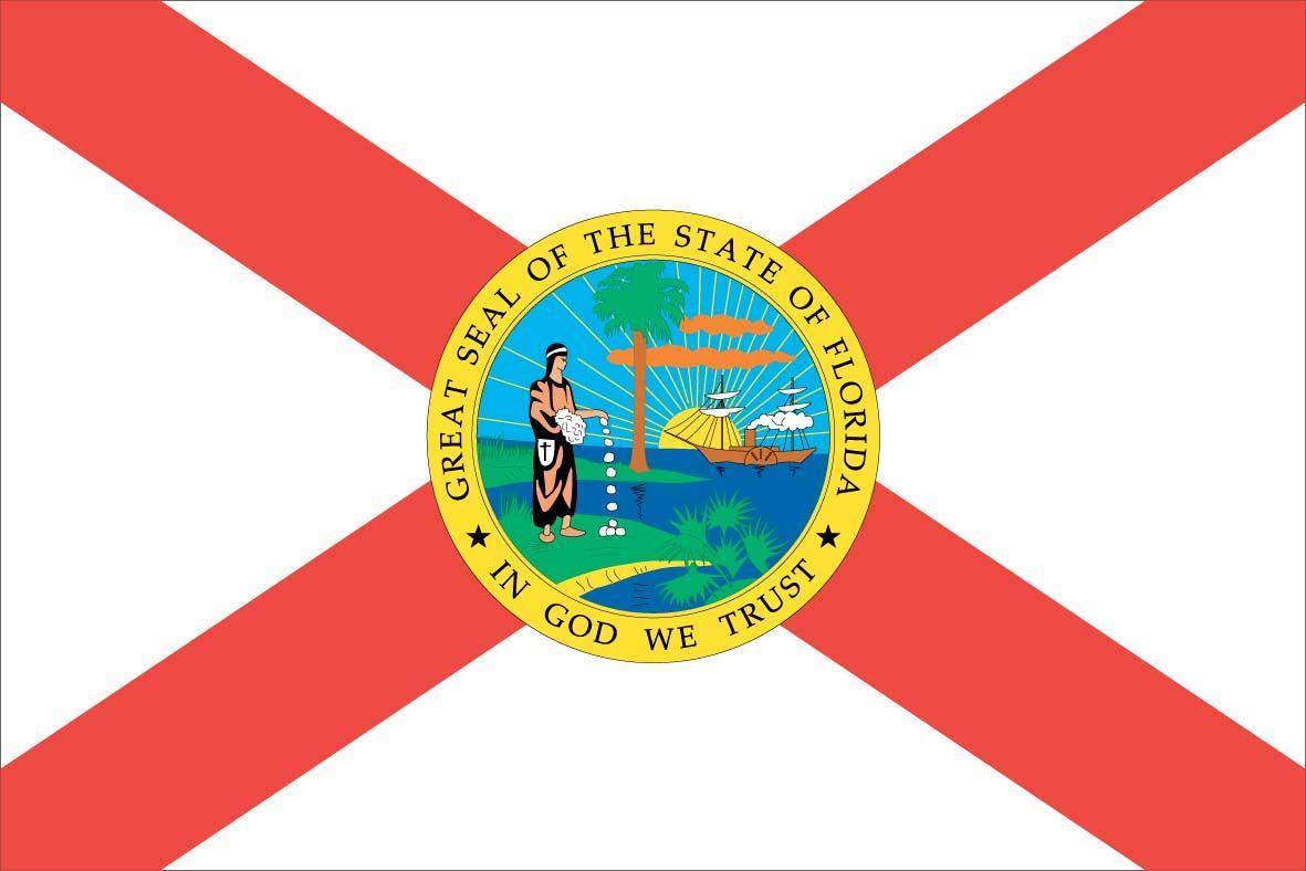 Florida State Flag Represents Florida State Flag Florida Flag State Flags