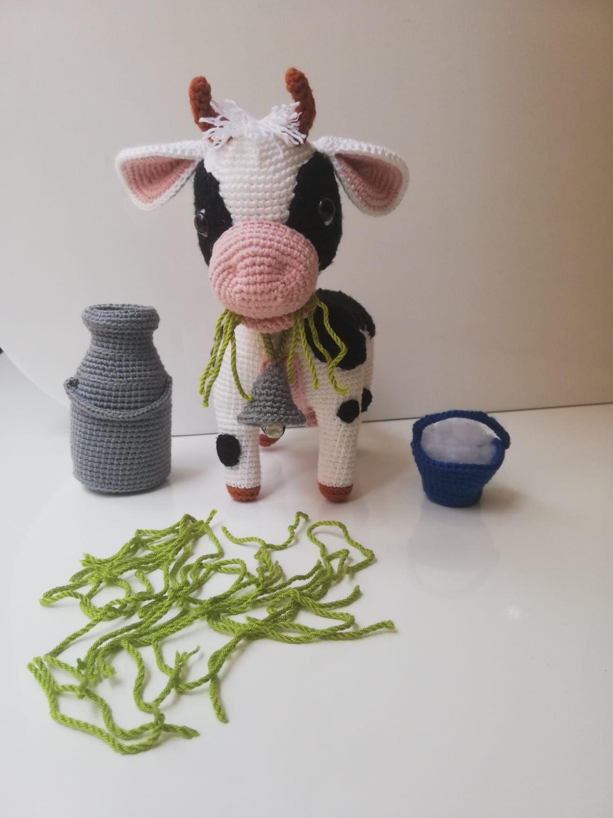 66# amigurumi inek örüyoruz 2. bölüm kol bacak ve meme yapımı ... | 1600x1200