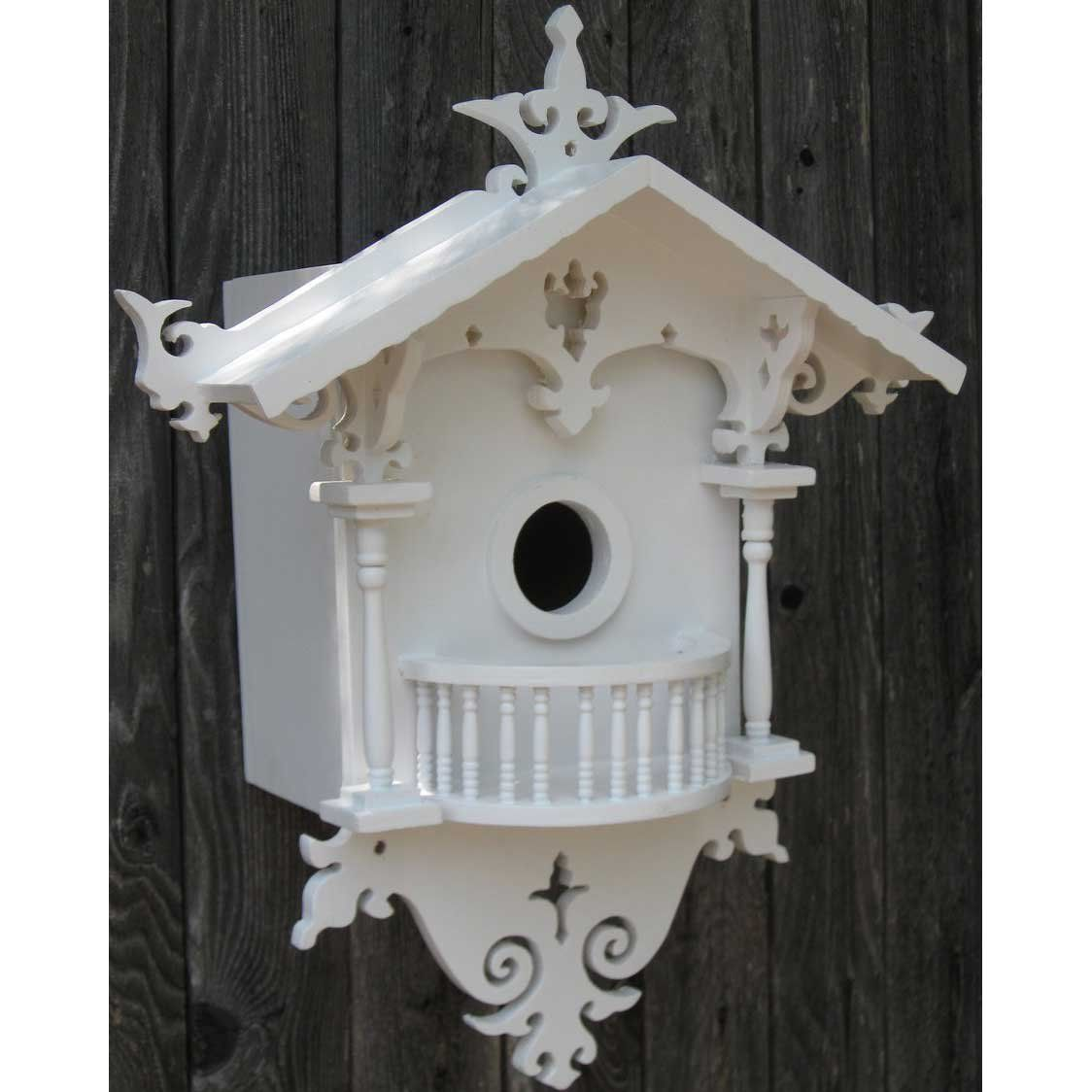 Decorative cuckoo cottage bird house beautiful birds and shelters