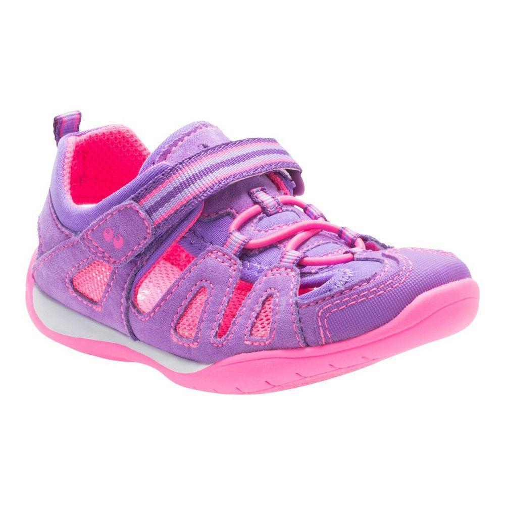 7b8863672add Toddler Girls  Kora Hiking Sandals Purple 8 - Surprize by Stride Rite
