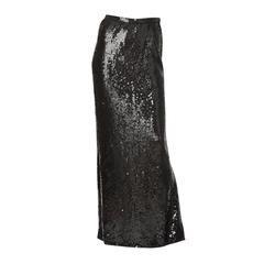 Bill Blass Sequined Evening Skirt