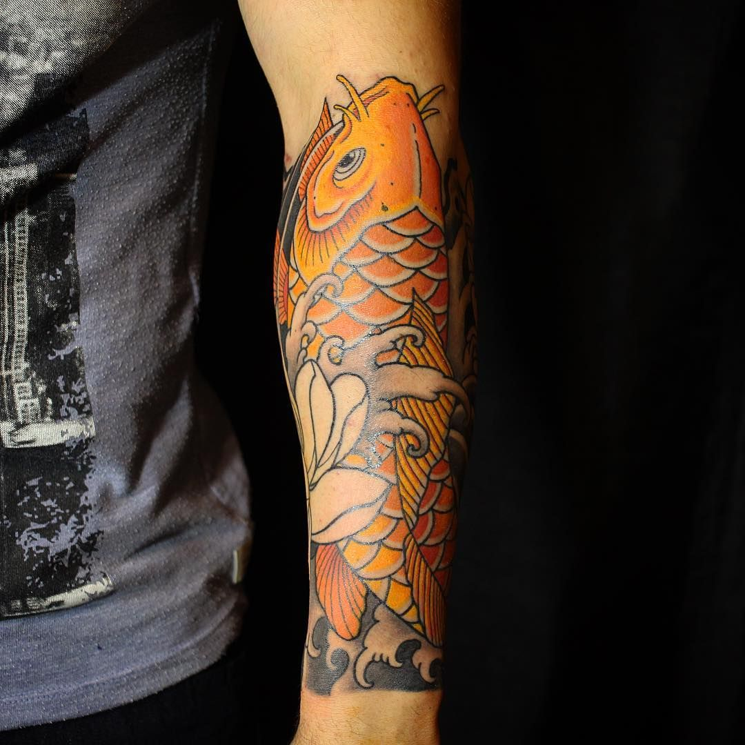 79 Koi Fish Tattoos Ideas December 2020 Koi Fish Tattoo Koi Fish Tattoo Forearm Tattoo Designs