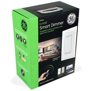 ge wave wireless. GE 12724 Z-Wave Wireless Lighting Control Dimmer Switch Ge Wave Wireless O