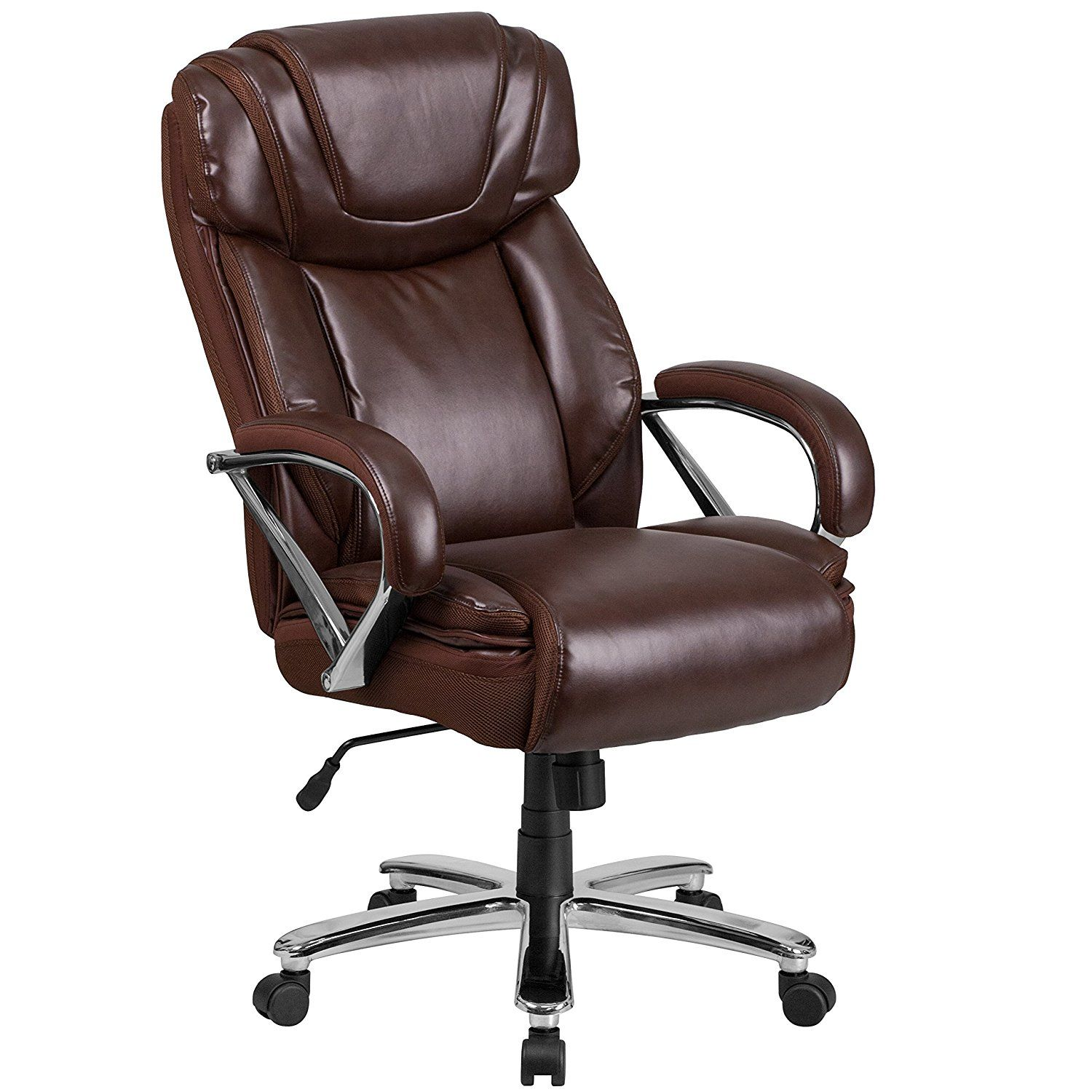 Black Leather Office Chair Swivel