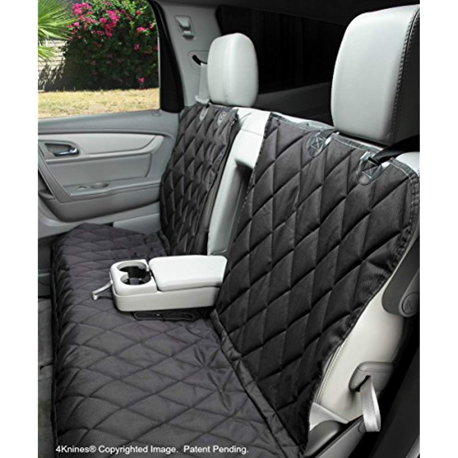 Sensational 4Knines Dog Seat Cover Without Hammock For Fold Down Rear Uwap Interior Chair Design Uwaporg
