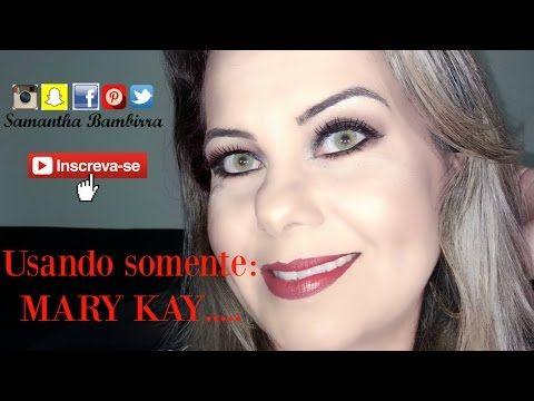 Maquiagem usando MARY KAY!!!! - YouTube