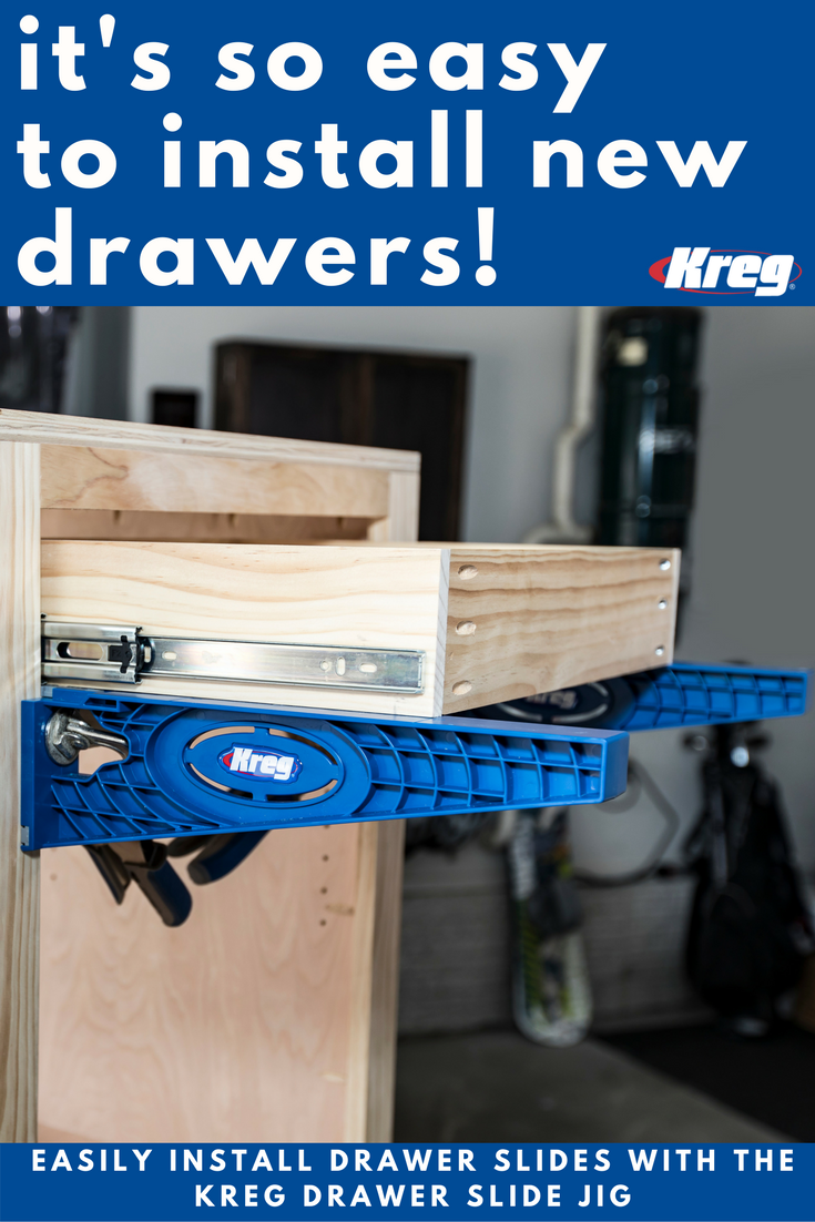 Drawer Slide Jig Drawer Slides Learn Woodworking Woodworking Tools