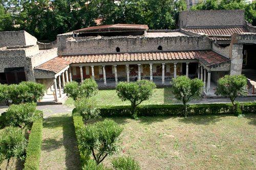 Villa rústica típica de los romanos, cercana a Pompeya. #Cornelia #Escipión #Africana #Roma #Miseno #República #relato #historia #4vium #Scipio #African #story #history #Republic #Rome
