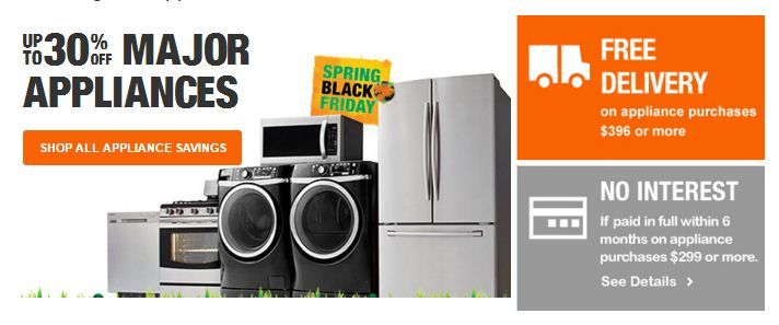 Home Depot 30 Major Appliances Home Depot Coupons Home Depot Kmart Home