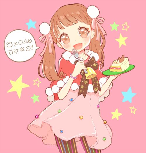 Christmas Cake Anime Girl Moe Moe Kyun Anime
