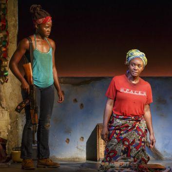 Lupita Nyong'o Makes Her Broadway Debut as Danai Gurira's <em>Eclipsed</em> Opens