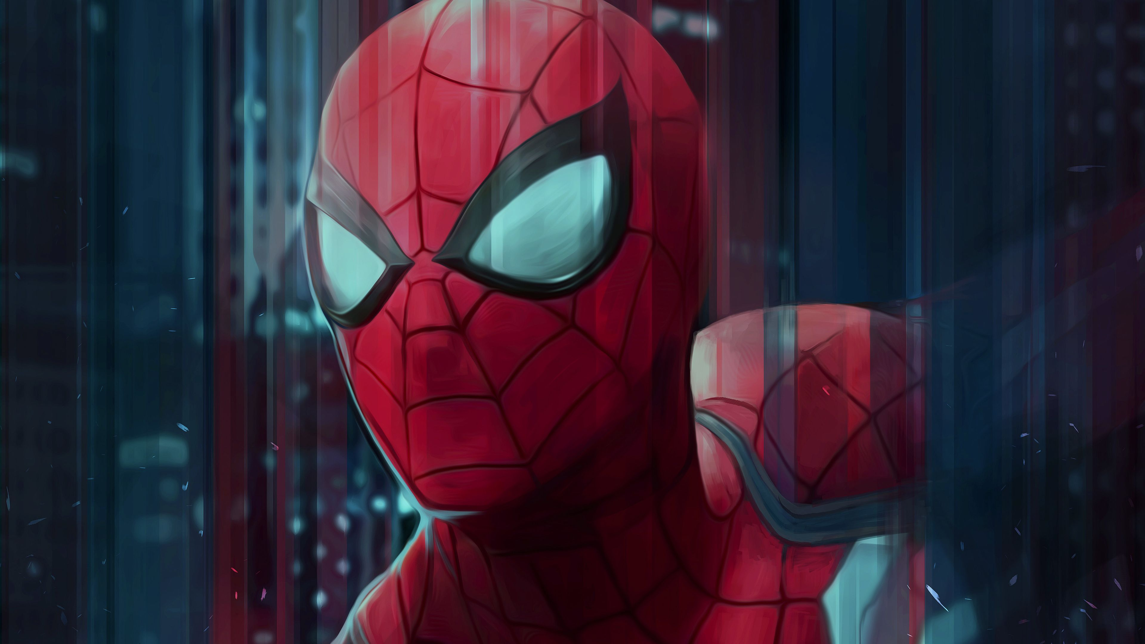 Spiderman Digital Art 4k Spiderman Art Spiderman Artwork Spiderman