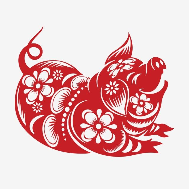 zodiac pig2019 year of the pigyear of pigvectorchuc