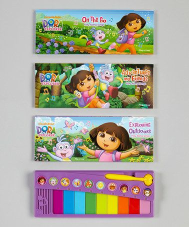 Take A Look At This Dora Deluxe Keyboard Music Set By Dora The Explorer On Zulily Today Dora Dora The Explorer Music