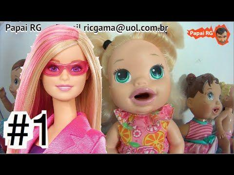 #1 Barbie Agentes Secretas Spy Squad Baby Alive Homem Aranha Capitão Amé...  #homemaranha #aranha #spider #spiderman #eterparker #avengers #vingadores #toys #toys #おもちゃ #barbie #dolls #doll #kids #kids  #puppet #babyalive #lego #imaginext #marvel #DC #Comics #escola #school #educação #education #kid #kids #lol