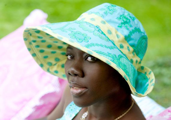 sun hat sewing pattern | FREE sewing patterns | Pinterest | Sewing ...