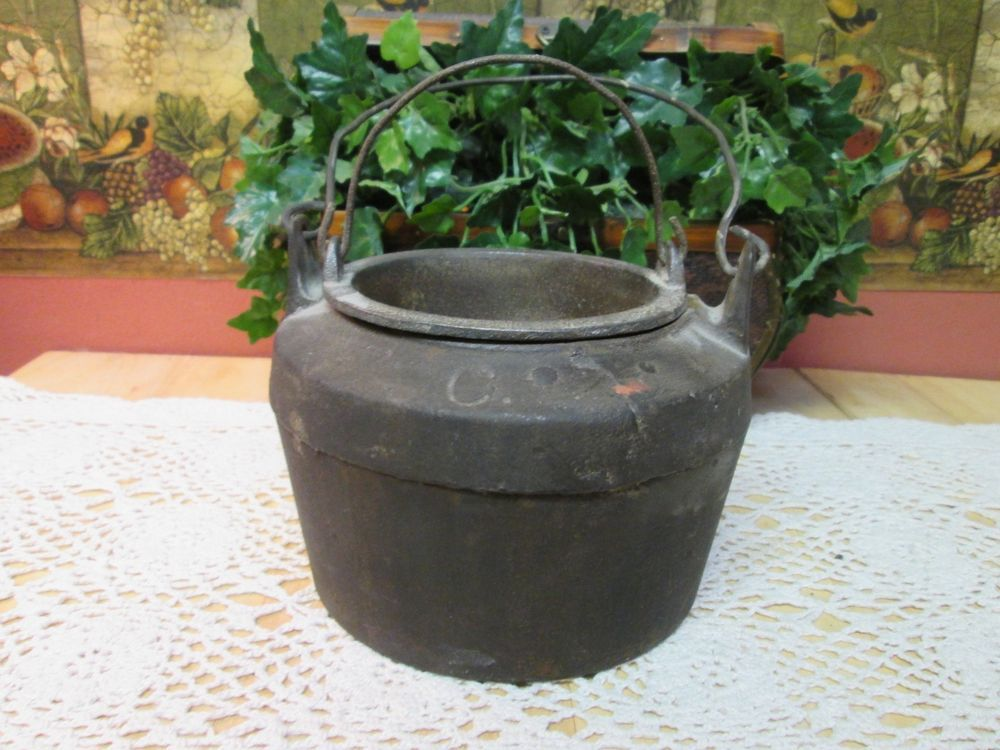 Cast Iron Glue Pot Double Boiler