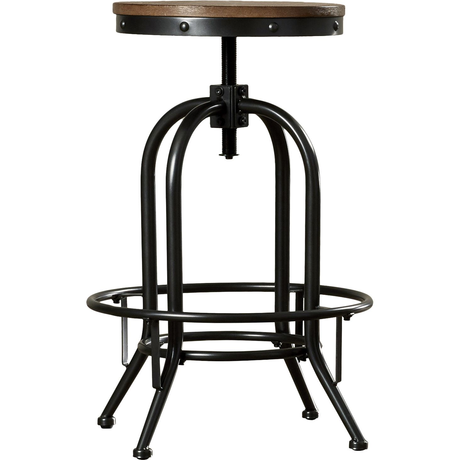 Trent Austin Design Empire Adjustable Height Swivel Bar Stool