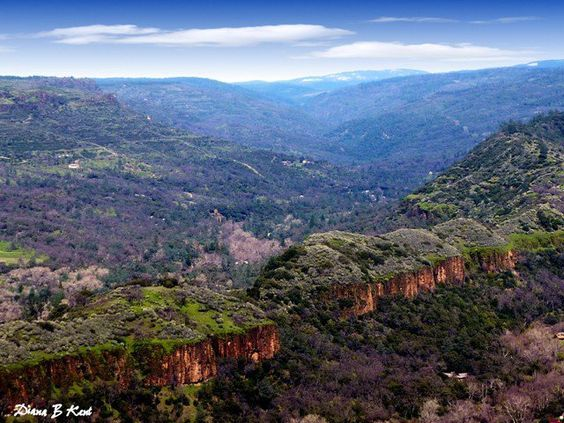 Butte Creek Canyon in California's gold country could be a stand-in for Hellcat Canyon...;)
