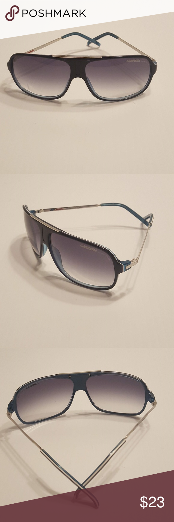 Carrera Cool/S ICE JJ Blue/Silver Sunglasses Carrera Cool/S ICE JJ Blue/Silver U…