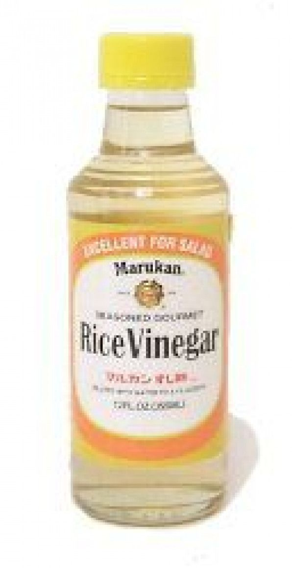 Rice Vinegar Substitutes: apple cider vinegar (also add a pinch of sugar if you like) OR white wine vinegar OR 3 parts white vinegar  1 part water