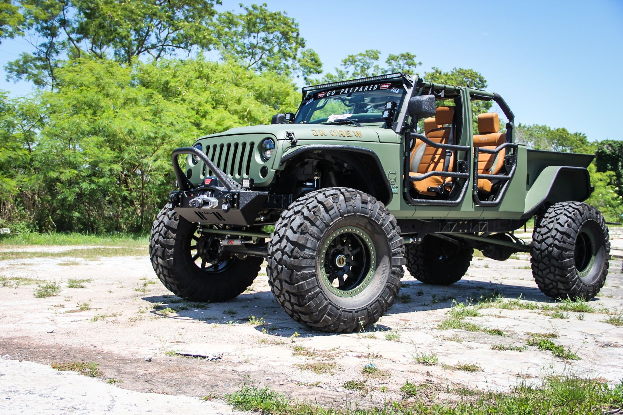 Jeep Wrangler Truck Conversion Meet the JK Crew The JK Crew is our