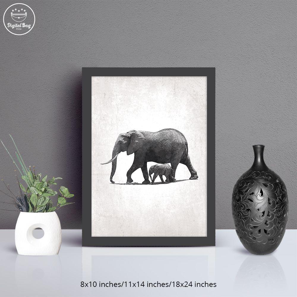 Elephant decor elephant wall art elephant wall decor elephant