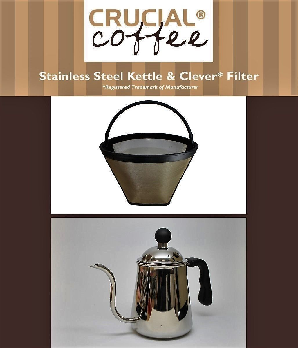Washable and Reusable Clever Reusable Cone Coffee Filter