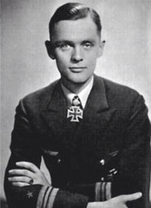 IMG REINHARD HARDEGEN, German U-boat Commander During World War II