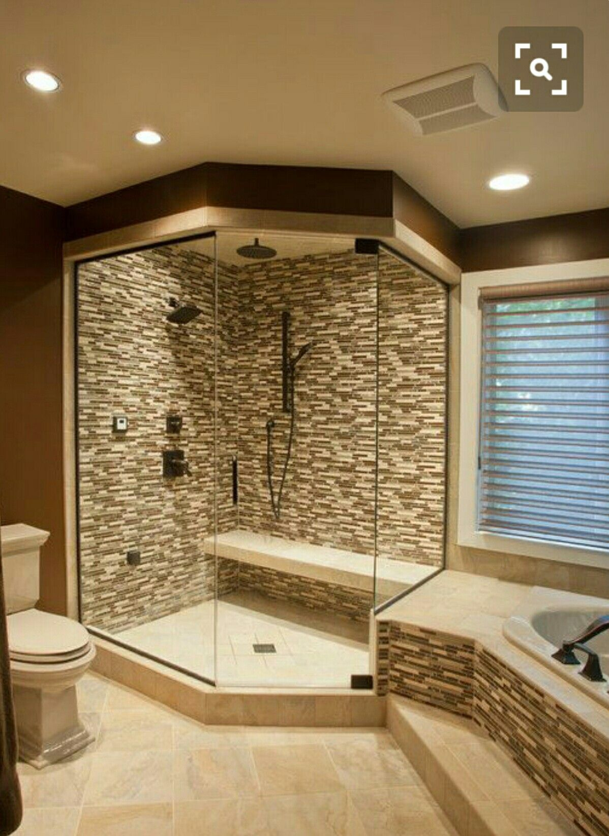 Rocked out tub new house Pinterest