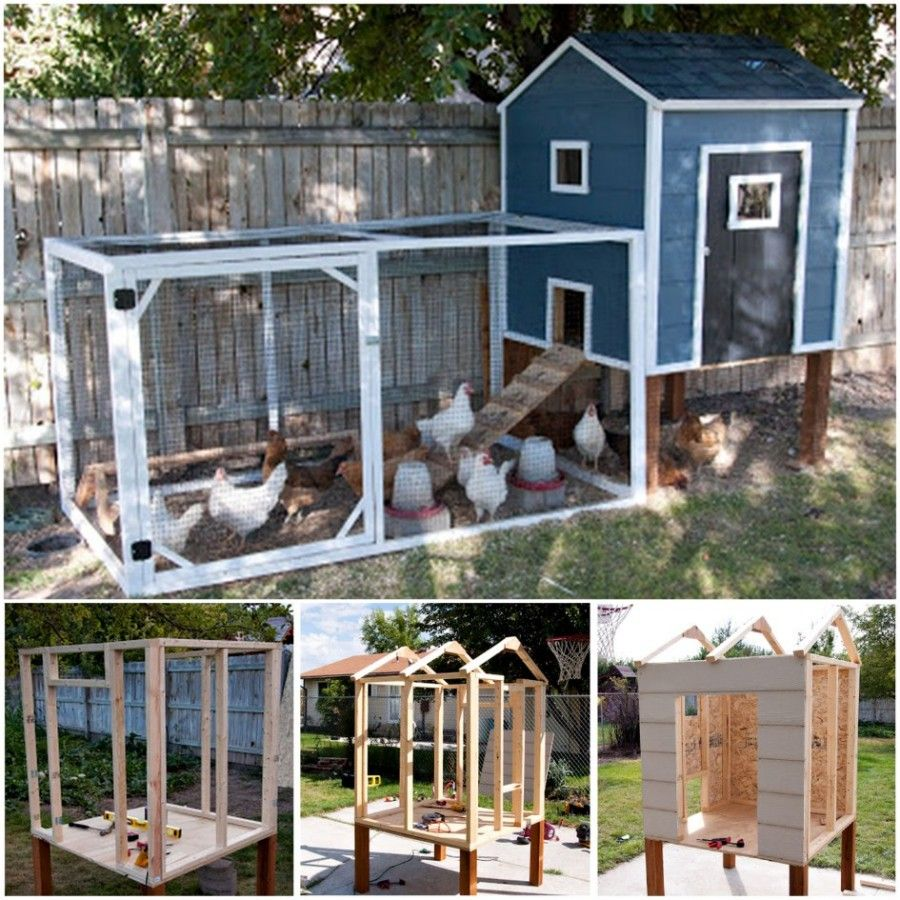 Diy chicken coops plans that are easy to build diy chicken coop plans diy chicken coop and coops - Comment construire un poulailler ...