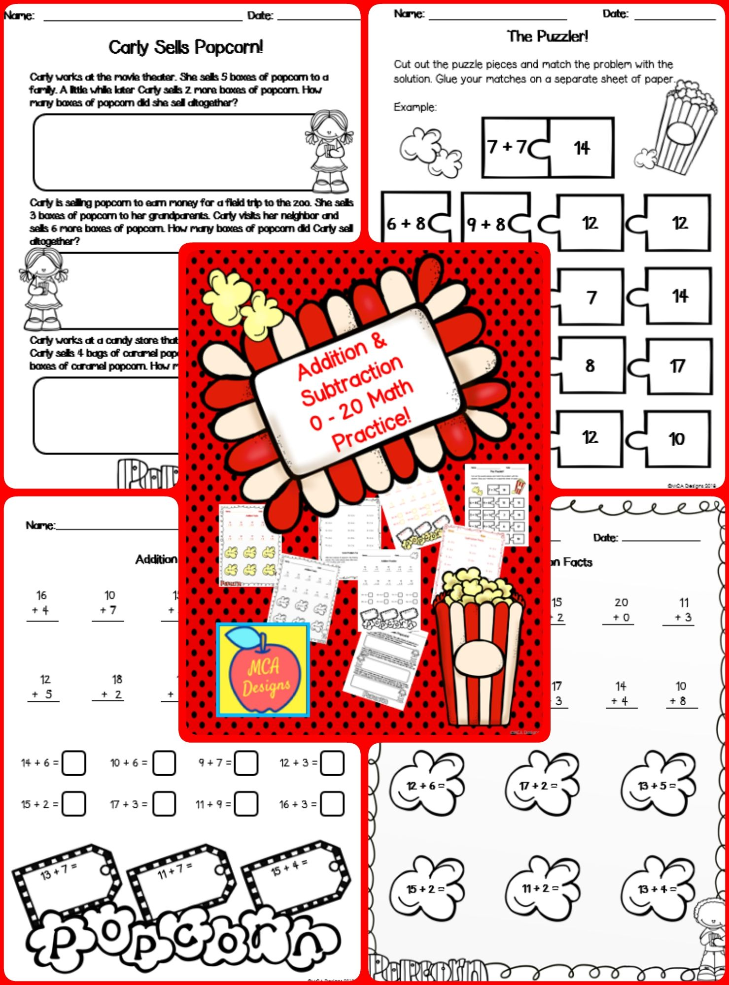 Addition Math Practice