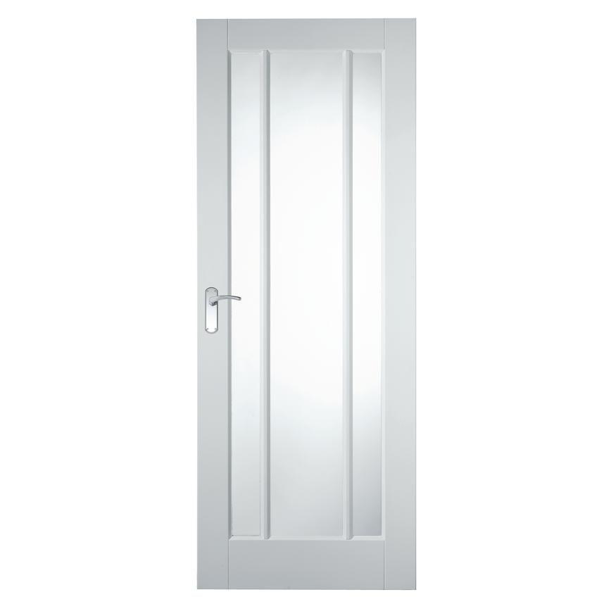 Let Light Stream In With Our Primed Worcester Glazed Door That Is Strengthened With An Engineered Core Glazed Door Door Fittings Internal Glazed Doors