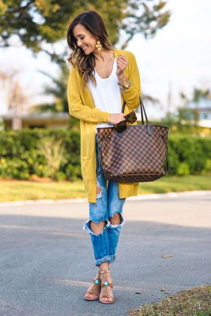 CASUAL SPRING OUTFIT IDEA | Sequins & Things | Shoes High heel ...