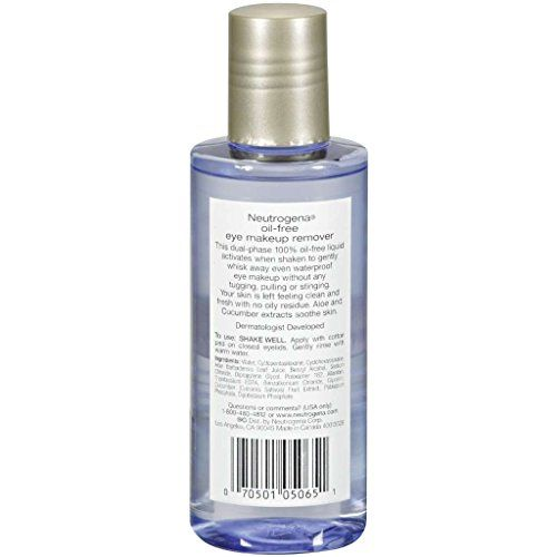 Neutrogena Eye Oilfree Makeup Remover 55oz 3 Pack Find Out More About The Great Product At Th Water Makeup Remover Oil Free Eye Makeup Remover Makeup Remover