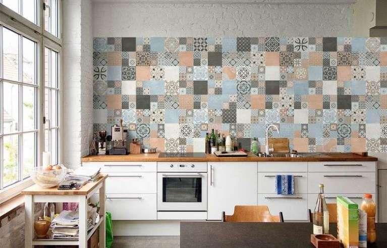 Arredare la cucina con le piastrelle cementine cucine tiles