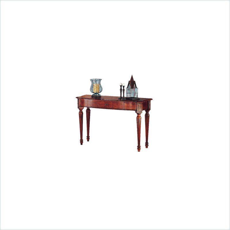 Sofa Table Magnussen Sedona Rectangular Sofa Table in Medium Brown Lowest price online on all