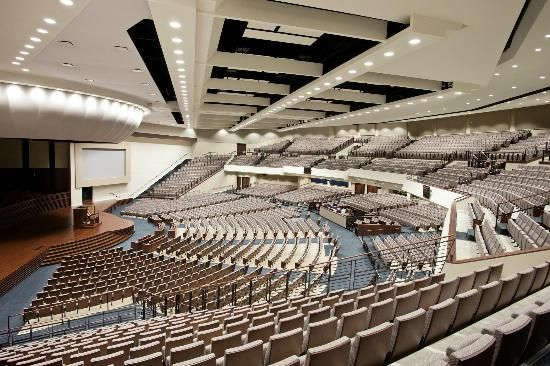 Southwestern Baptist Theological Seminary Fort Worth Picture Inside View Of The 3 500 Seat Macgorman Chapel Performing Art Architecture Seminary Fort Worth