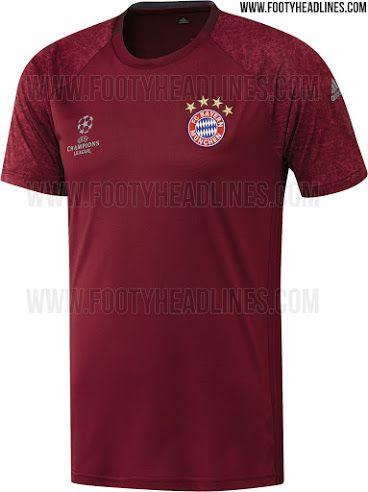 Bayern Munich 16-17 Champions League Training Shirt Leaked - Footy Headlines 3e2e4f5b9