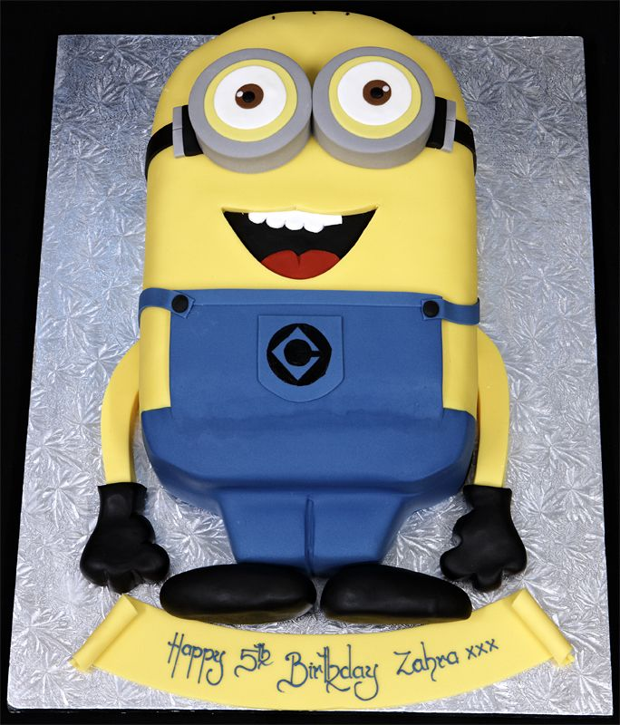 Miraculous Coolest Despicable Me Minion Birthday Cake 4 More At Recipins Com Funny Birthday Cards Online Elaedamsfinfo