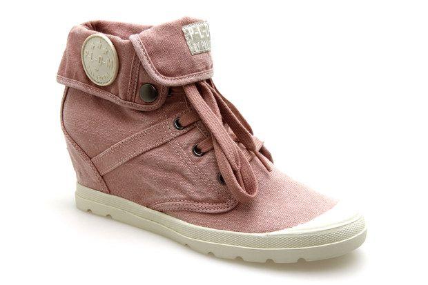 Ecuador Baskets Palladium Femme Rose Compensées Chaussures qxE4f