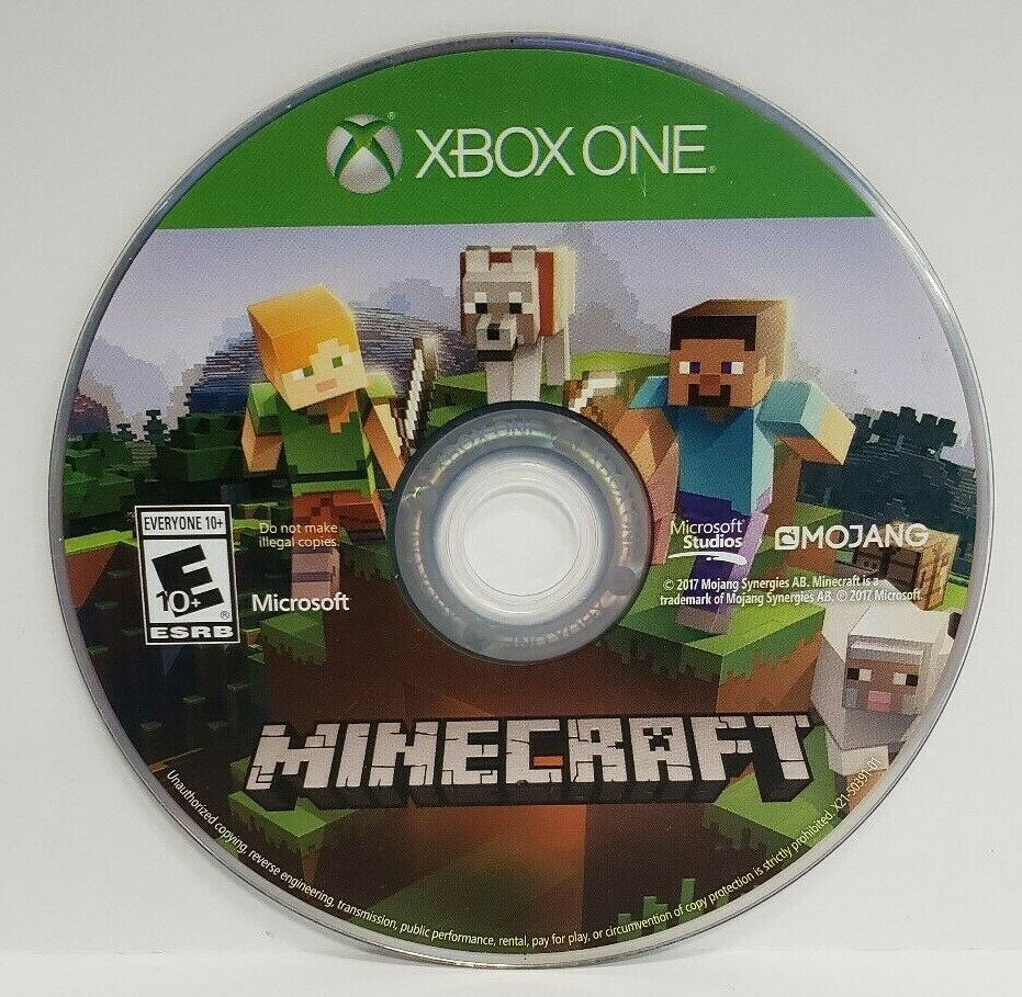Minecraft Xbox One Edition (Microsoft Xbox One) DISC ONLY