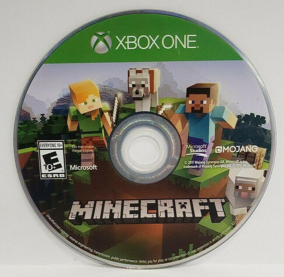 Minecraft Xbox One Edition (Microsoft Xbox One) DISC ONLY