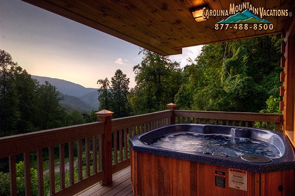 A Bit Of Heaven NC Cabin Rental In The Nantahala Areas Of The Smoky  Mountains.