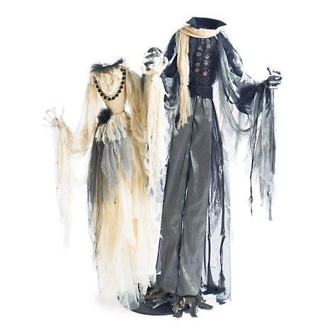 Grandin Road Headless Dancing Couple Halloween Favorites Pinterest