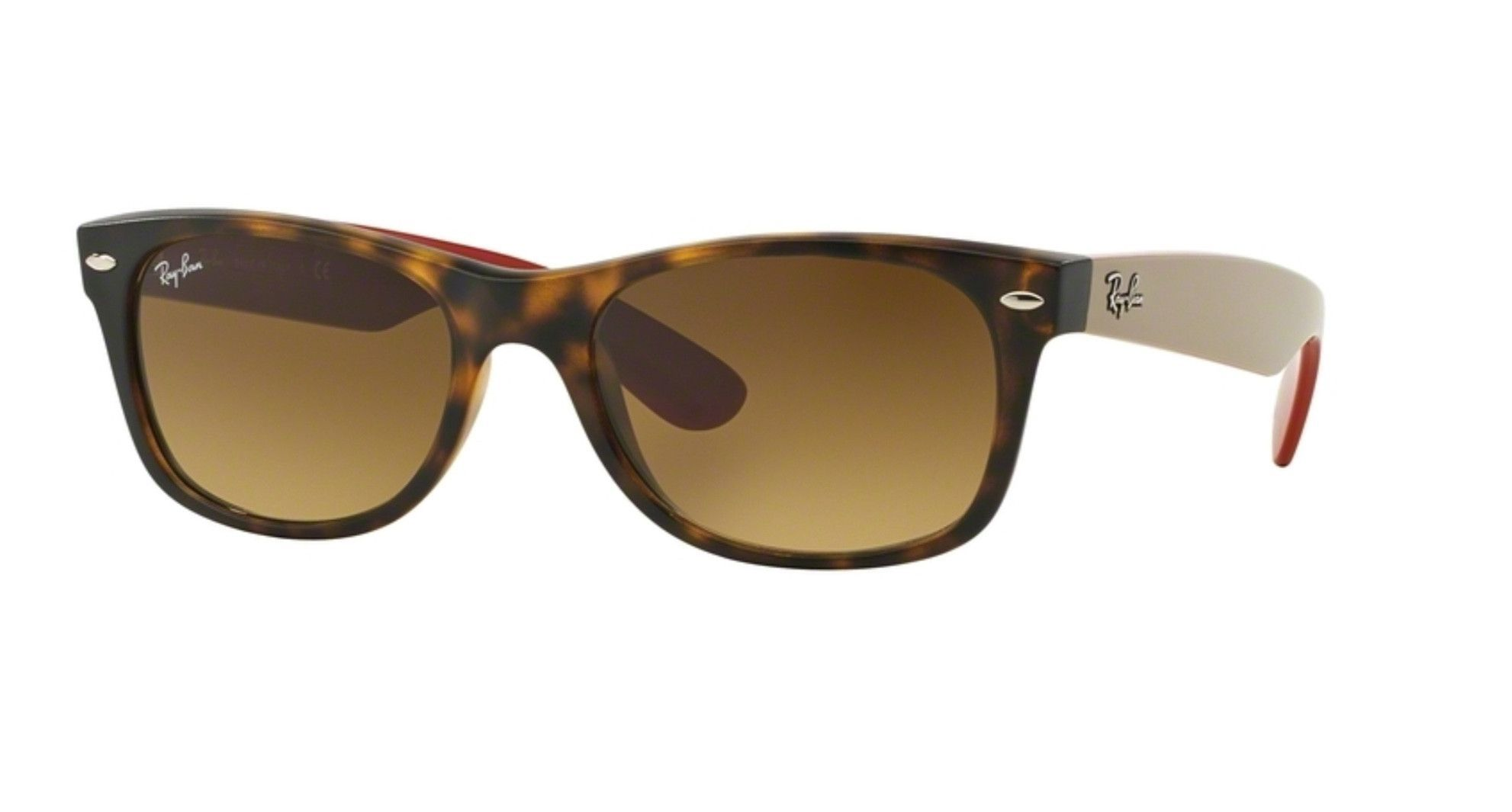 Ray Ban RB2131 618185 Matte Havana New Wayfarer Sunglasses