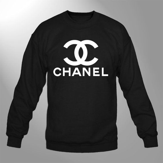 Chanel - Sweatshirt Crewneck Sweater Black Chanel1 Fleece Pullover