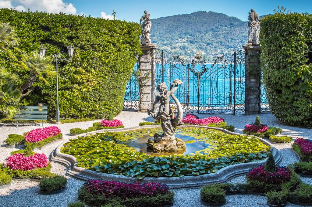 Villa Carlotta, Como Lake, Italy puzzle in Puzzle of the