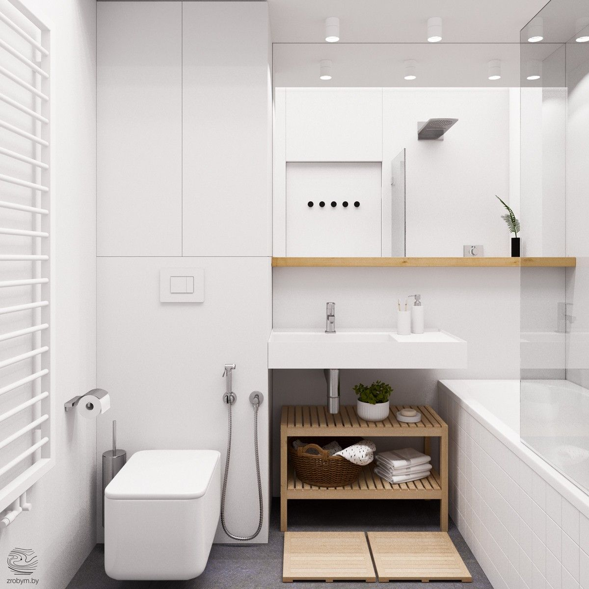 Mueble Encima W C Id Spaces Bathrooms Pinterest Ba Os # Muebles Para Wc